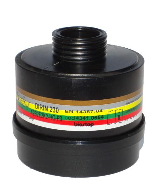Mehrbereichs-Kombifilter DIRIN 230 A2 B2 E2 K2 Hg-P3R D