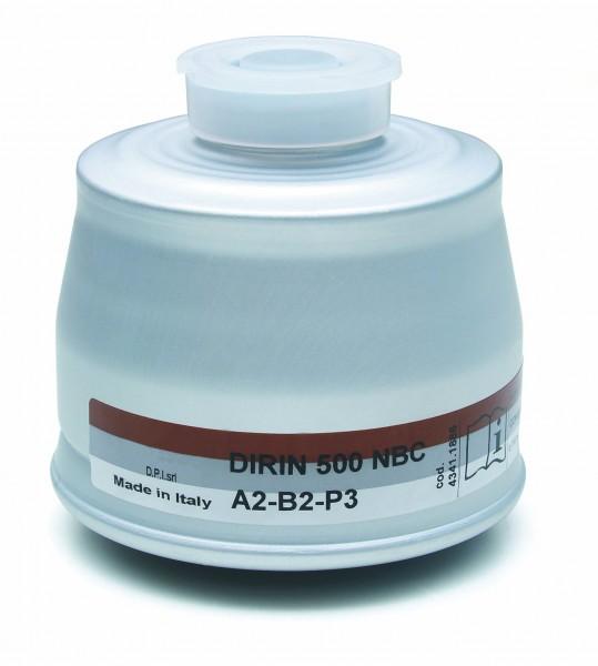 Mehrbereichs-Kombifilter DIRIN 500 A2 B2-P3R D NBC