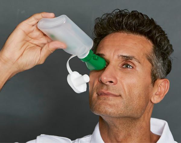 Augenspülflasche MINI mit Trichter, FD