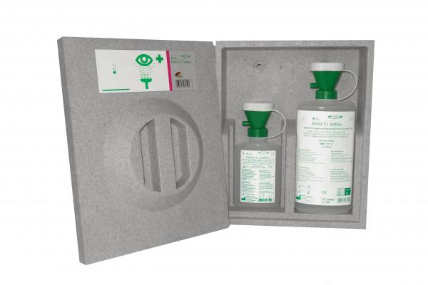 Augenspülstation (EPS) komplett, mit 2 EKASTU-Augenspülflaschen