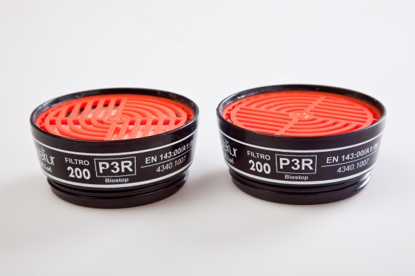 Partikelfilter 200 P3R D
