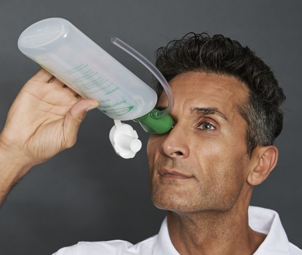 Augenspülflasche mit Trichter, EY